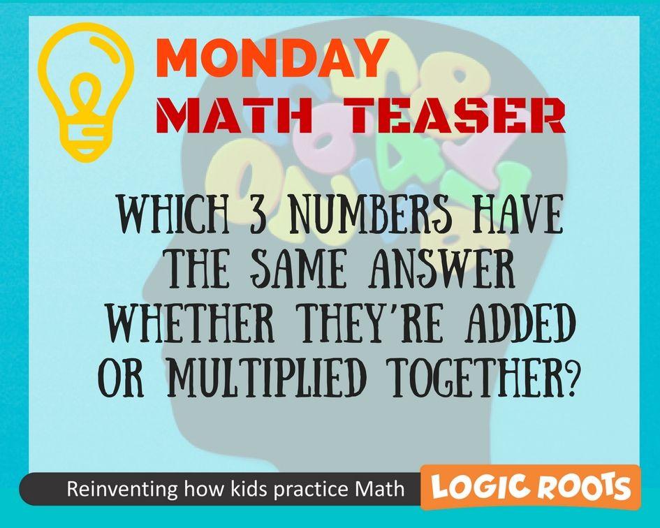 Pin by Math Games - Logic Roots on Math Brainteasers, Math games ...