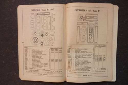Articles-pour-Automobiles-Velos-et-Motos-1930-TARIF-N-28