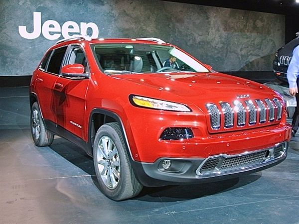 Revealed 2014 Jeep Cherokee 2013 New York Auto Show Jeep