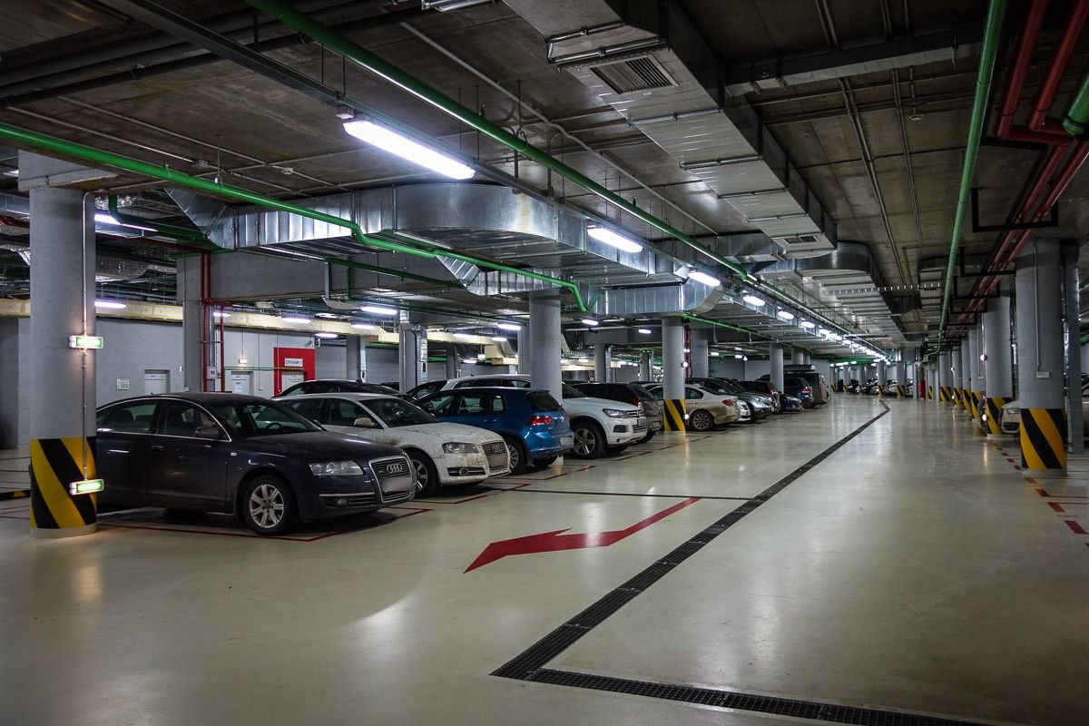 Design of basement car parking - In Contemporary Society Many People Complain The Underground Parking Lot For Instant It