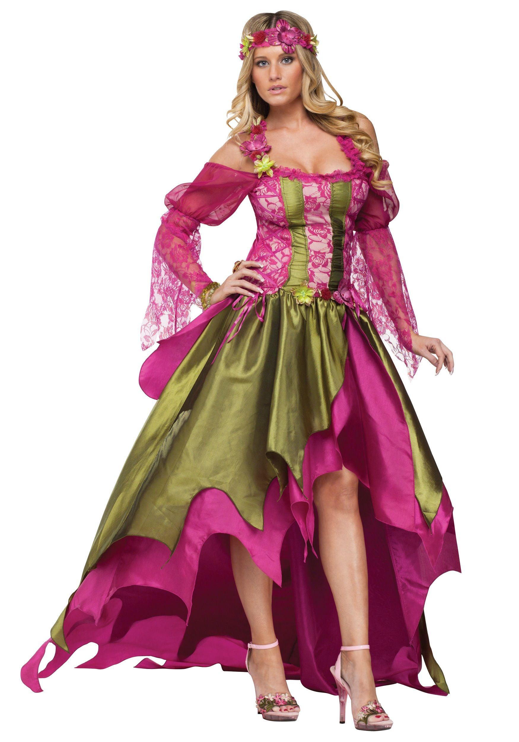 extra plus size halloween costumes | plus size fairy queen costume