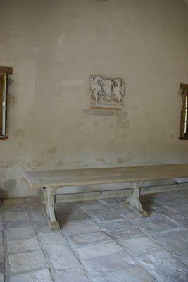 malvini belgium: Table monastere Pierre 4 M - refectory table - стол монастырь