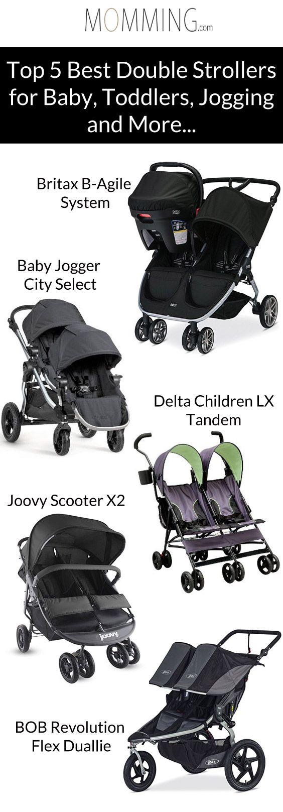 Best Double Strollers 2017