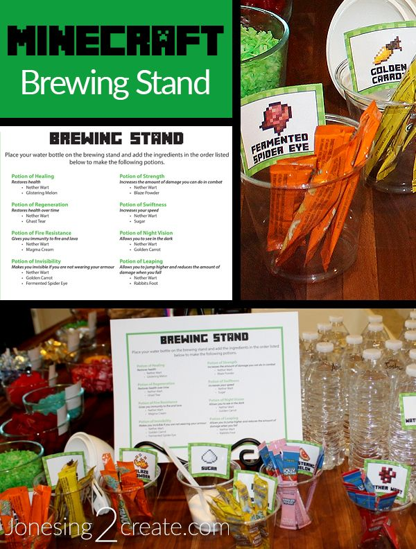 how to make a minecraft brewing stand