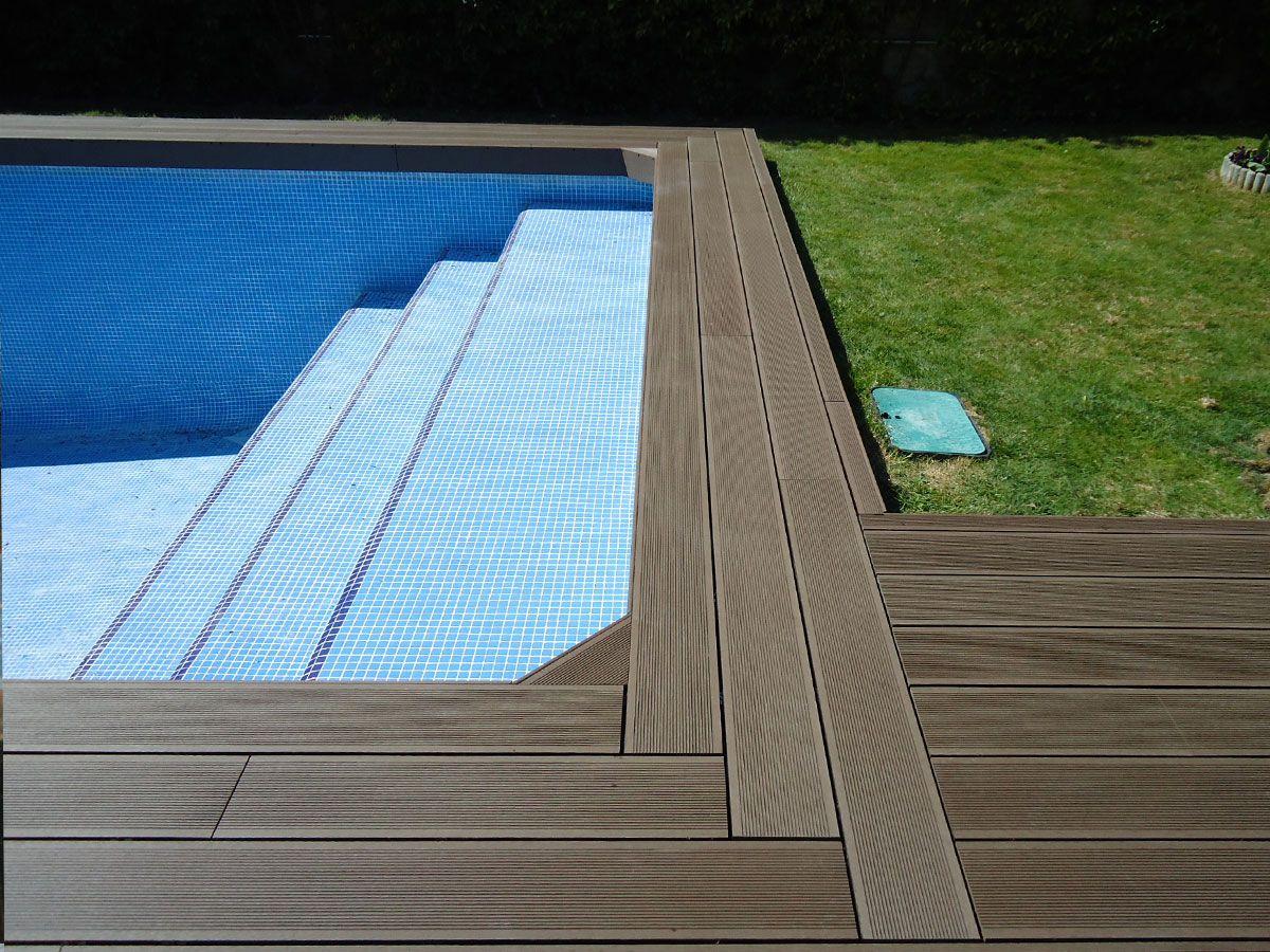 Resultado de imagen de suelo exterior madera y piedra - Suelo exterior madera ...