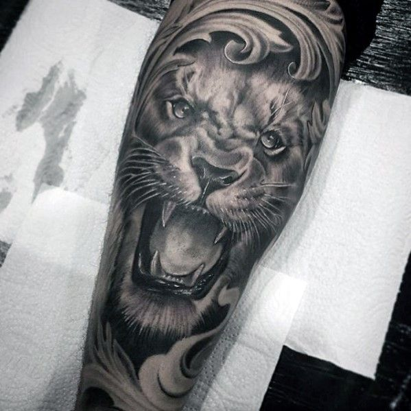 40 Lion Forearm Tattoos For Men Manly Ink Ideas In 2020 Forearm Sleeve Tattoos Lion Forearm Tattoos Lion Tattoo