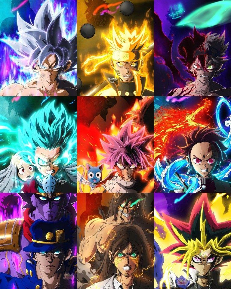 Main Anime Characters Erloyn In 2021 Manga Anime One Piece Anime Dragon Ball Anime Crossover Cool anime heroes wallpaper