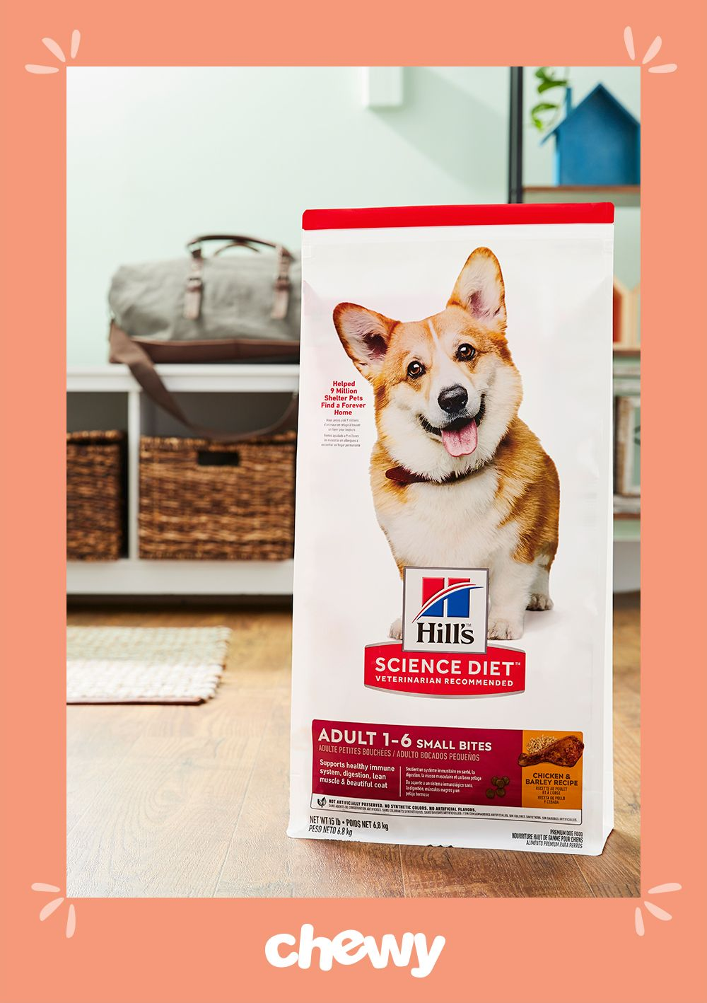 Give your small dog a precisely balanced nutrition for a