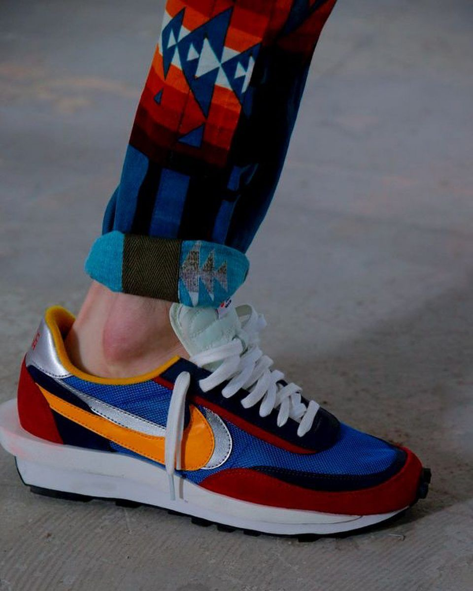 Sacai x Nike Daybreak Double Deconstructed SS19 | Nike