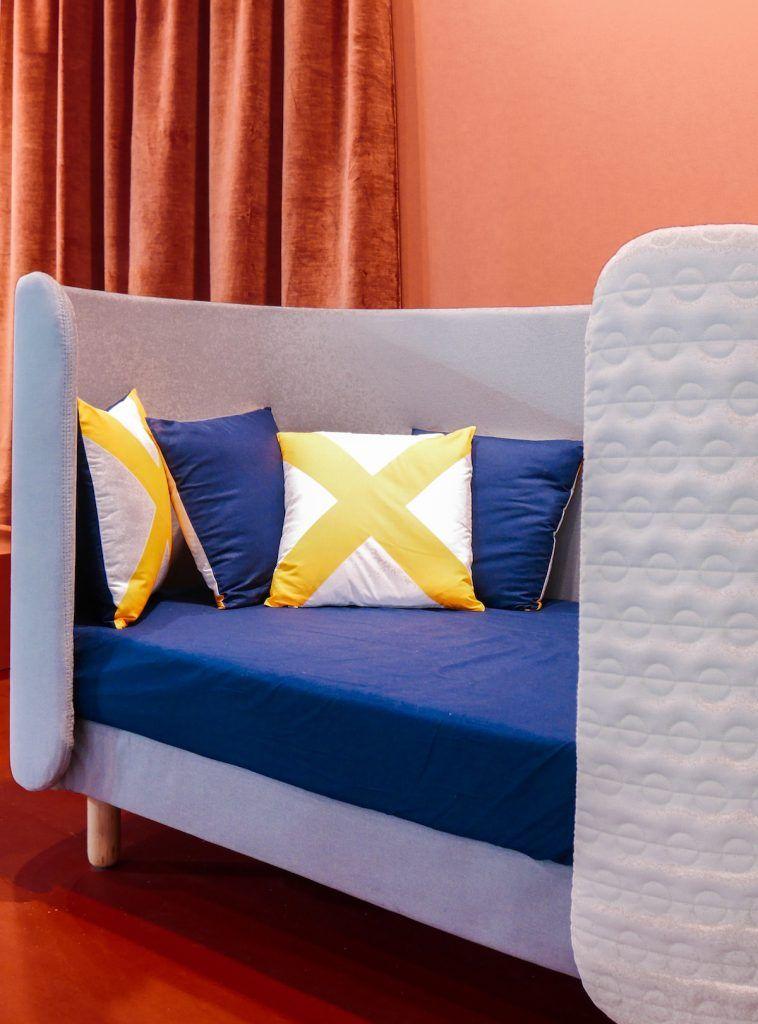 Tendances Déco 2019 Chambre Colorée Orange Bleu Roi Et Jaune Maison Et  Objet Janvier 2019 Lit Enfant Ovale Design   Blog Déco   Clem Around The  Corner