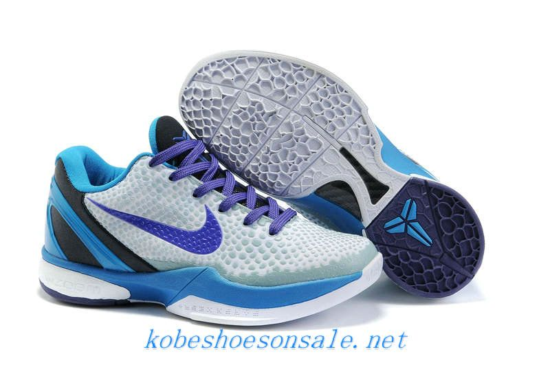 pretty nice e5d77 ce4a6 Nike Zoom Kobe VI 6 Womens Draft Day Grey Purple 429659 102