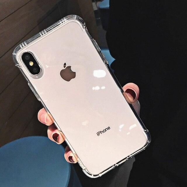 INSNIC Shockproof Transparent Case for iPhone - For iphone 11Pro / White