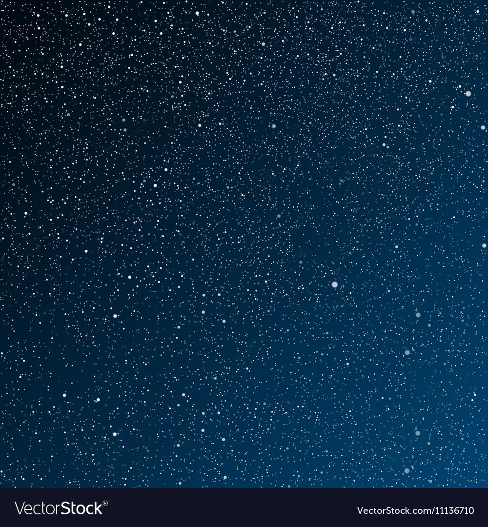 Vector Background Starry Night Sky Stars Sky Night The Night The Starry Dark Blue Sky In Stars Download A Free Preview Star Sky Starry Night Night Skies
