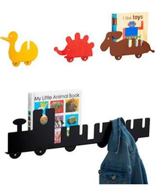 Organizing Made Easy Fun Wall Hooks Inspire Kids To Actually Hang