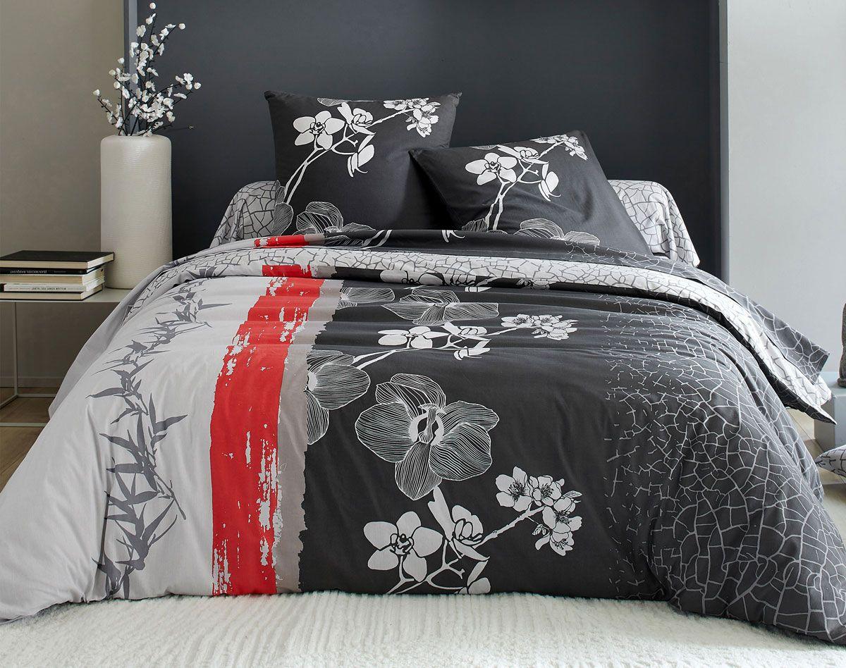 Linge De Lit Fleurs Grimpantes Decoration Maison Linge De Lit Deco Asiatique