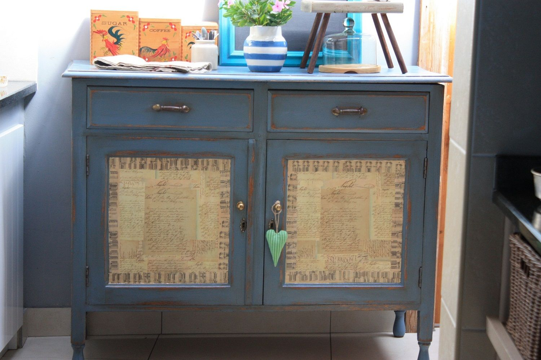 Decoupage Cupboard Doors Shabby Chic Cabinet Cupboard Doors Solid Oak Doors