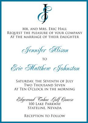 wedding invitations samples Invites Pinterest