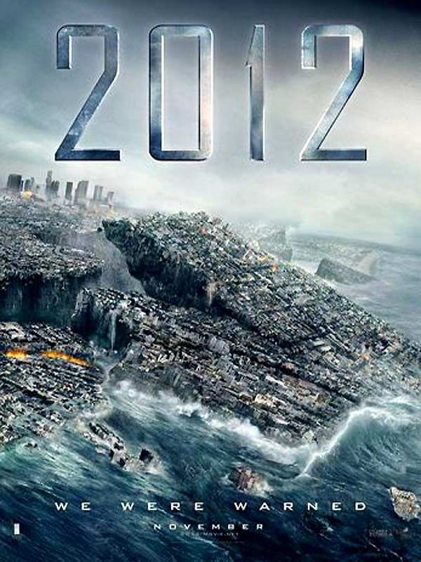 2012 Film Film Movie Affiche De Film Beau Film