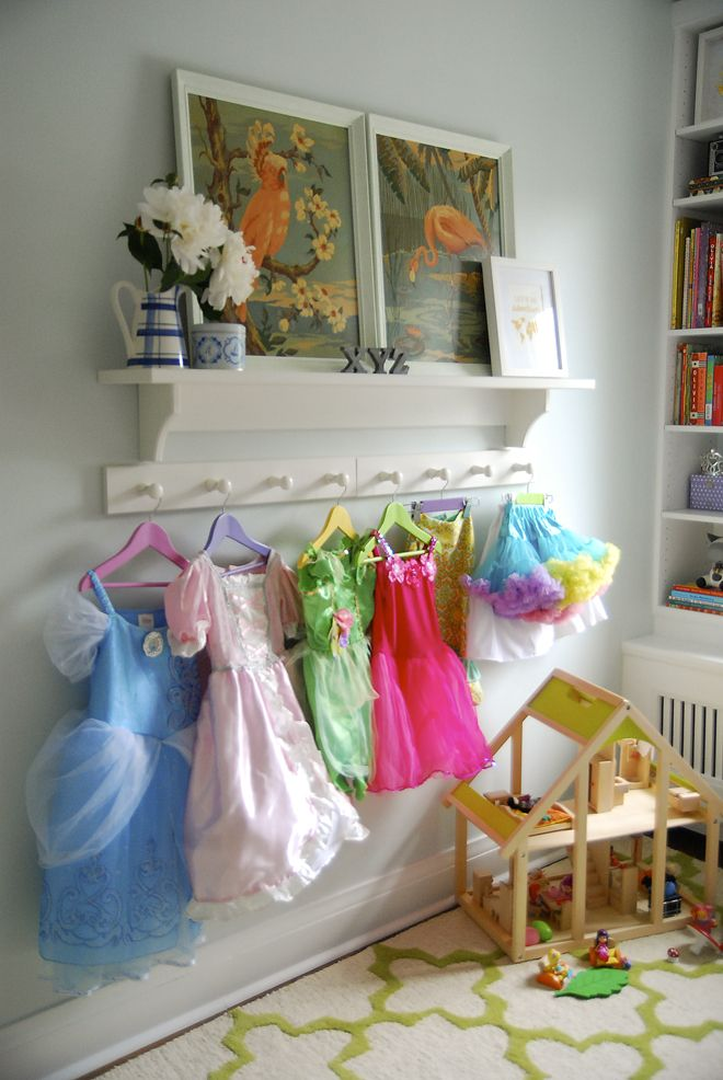 Rambling Renovators | costume storage | wall display