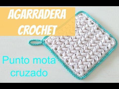 AGARRADERA en crochet PASO A PASO 2 de 2 - YouTube | VIDEOS ...