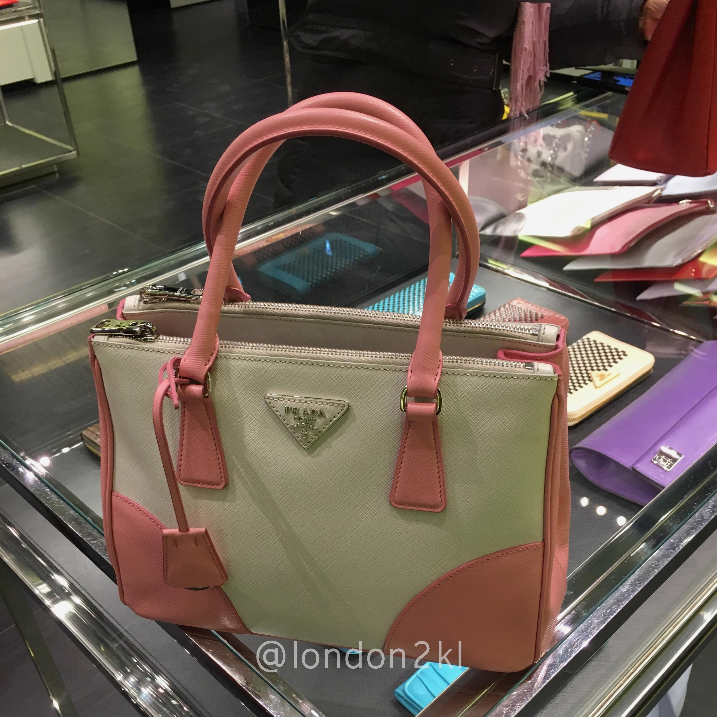 We are heading to Bicester Village on Tuesday (24/01/17). Prada B2863K RM4,470 ❤❤❤it?  WhatsApp me  for orders now.  Once it's gone, it's gone!  See even more #L2KLbv #L2KLbv #L2KLbv