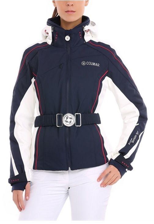 Veste de ski femme red square blanche