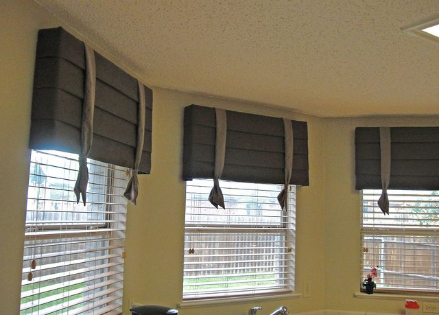 Cornice Boards With Wood Blinds Contemporary Window Treatments