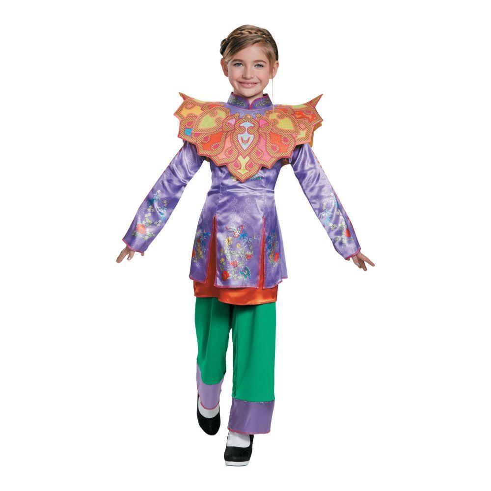 Asian girl costume