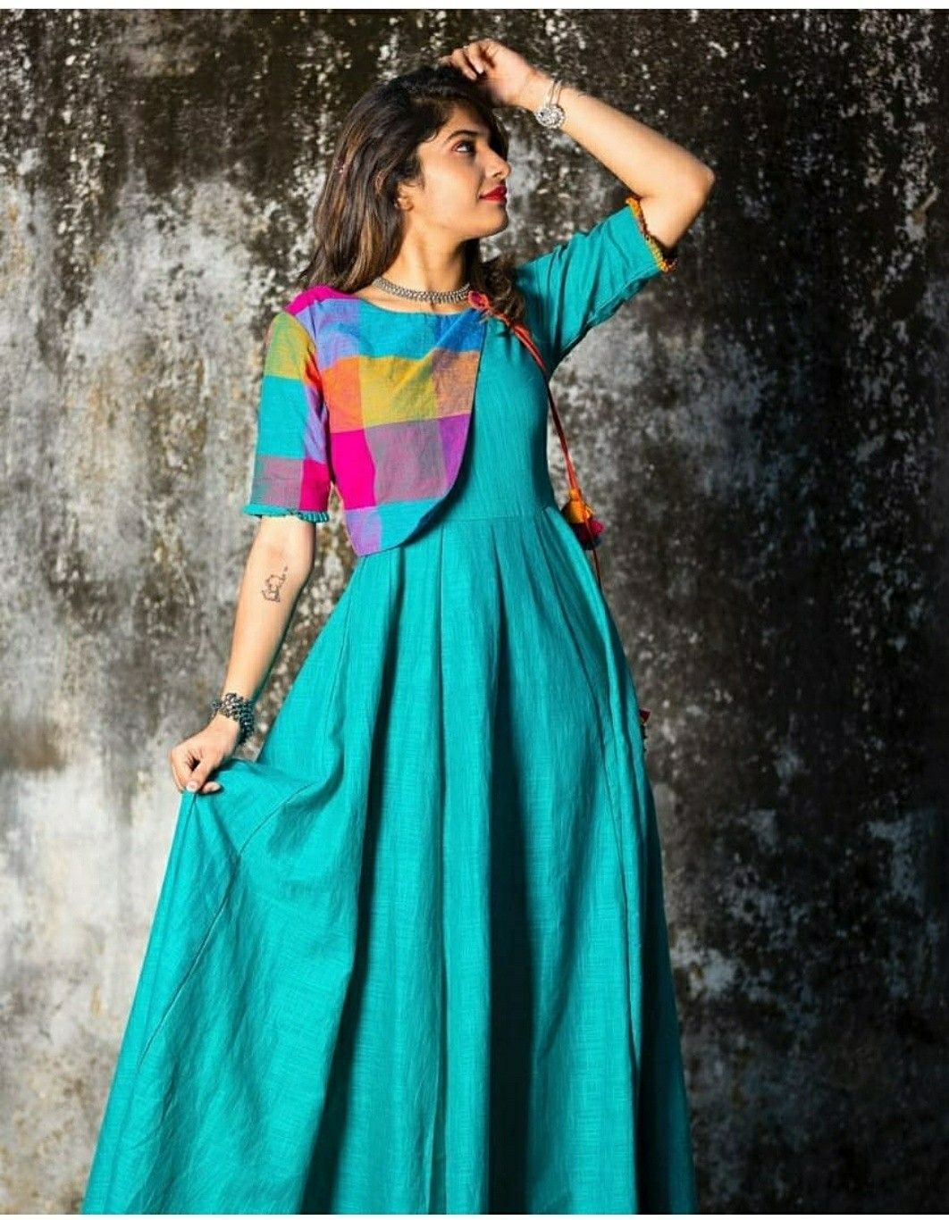 9bdf147866 Whatsapp for this tailer fit designer wear indian dresses blue long also  pin by neon cherry