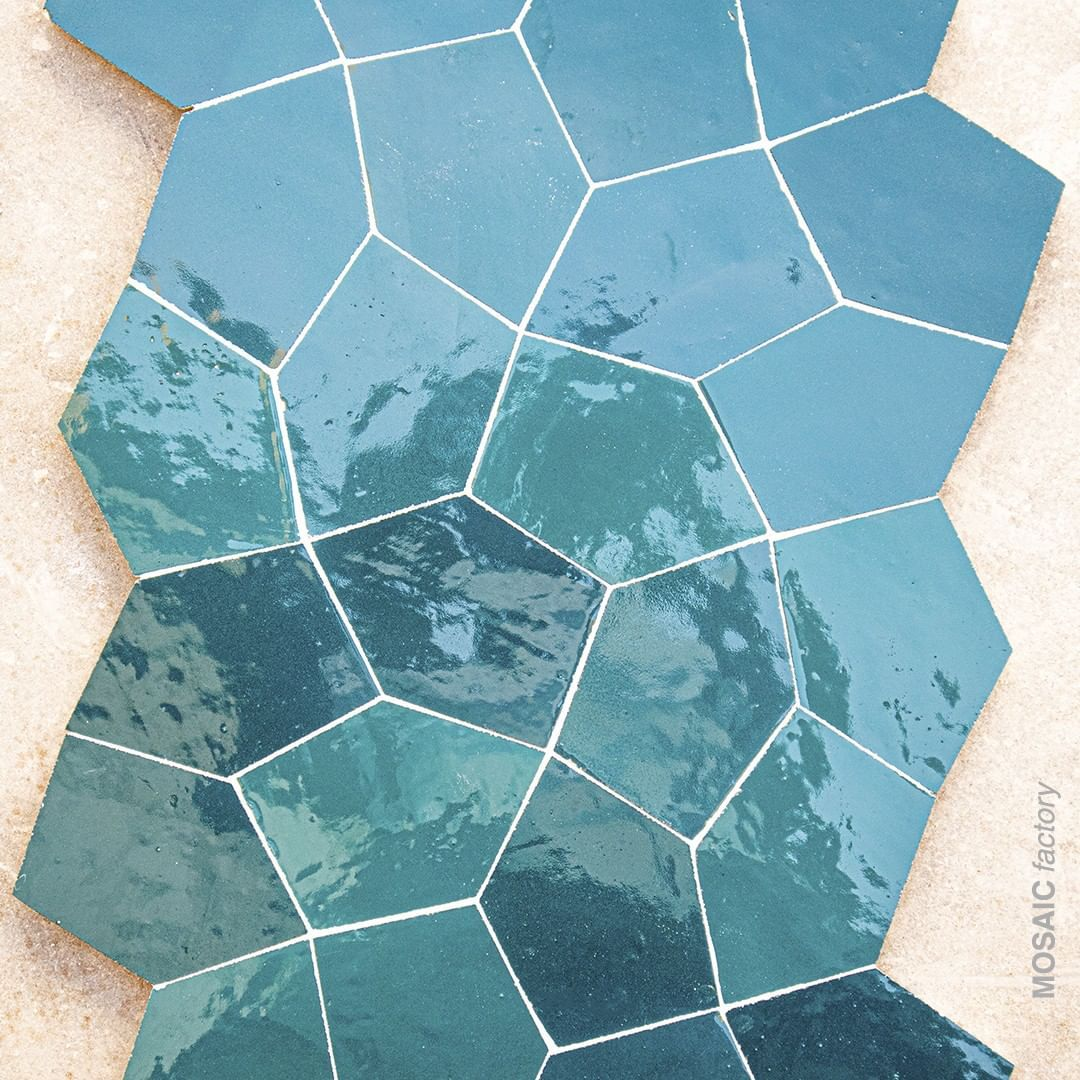 """Mosaic del Sur on Instagram: """"Zellige tiles reference S050 ..."""