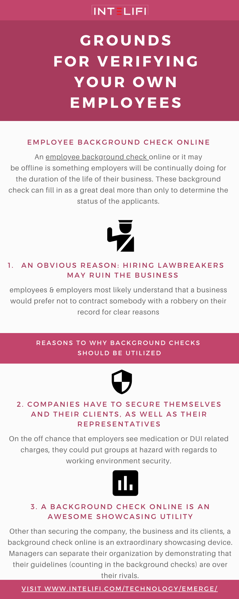 Grounds For Verifying Your Own Employees Background Check Employee Do You Work