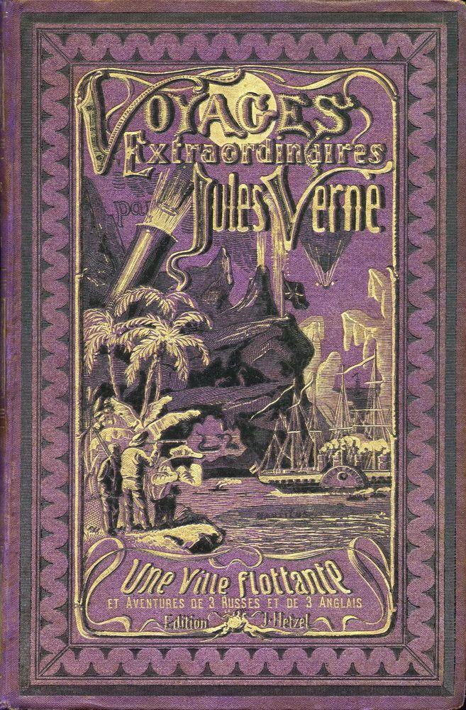 """Résultat de recherche d'images pour """"vieux livre jules verne"""""""