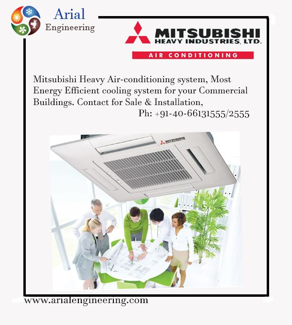 Mitsubishi Heavy Airconditioner Most Energy Efficient Cooling