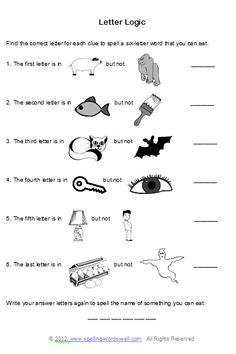 Brain Teasers For Kids Worksheets Worksheets for all | Download ...