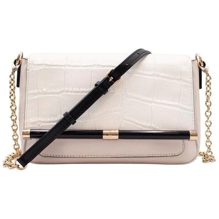 d661e9ac897 Zip-a-Dee-Doo White Purse (280 HKD) ❤ liked on Polyvore featuring ...