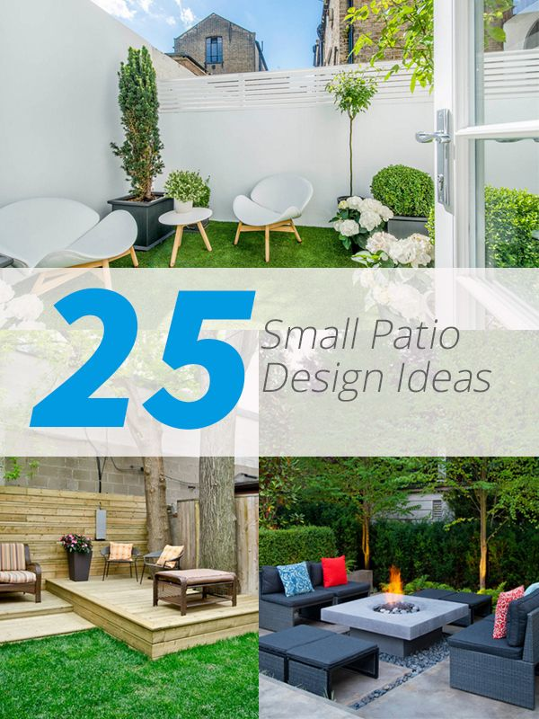 25 Practical Small Patio Ideas for Outdoor Relaxation Even if you ...