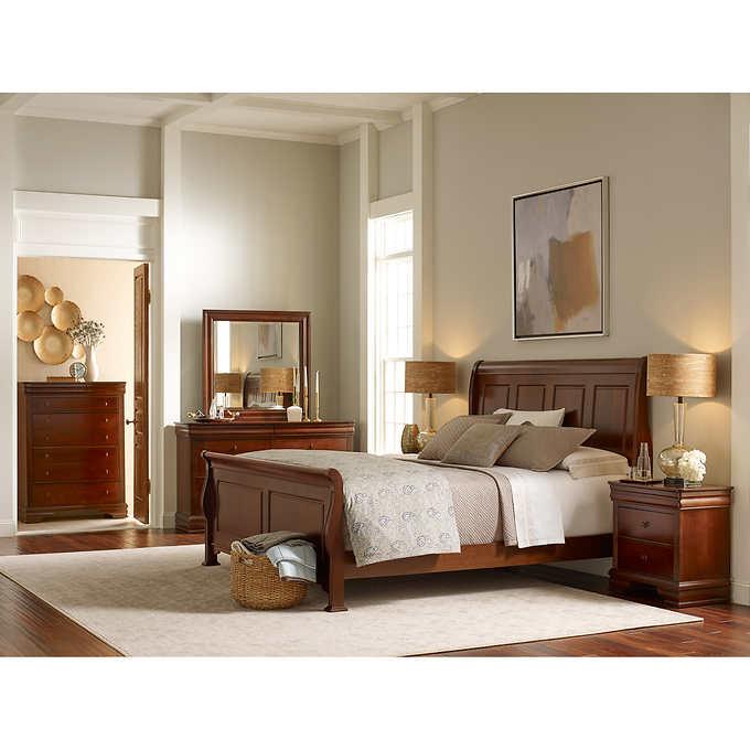 charleston 6piece queen bedroom set  king bedroom sets