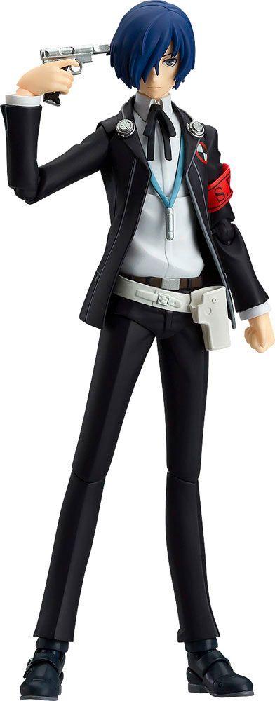 Figura Makoto Yuki 14 cm. Persona 3. Línea Figma. Max Factory  Estupenda réplica en forma de figura articulada y de 14 cm del personaje llamado Makoto Yuki fabricado en PVC y ABS, 100% oficial y licenciada y que viene también con accesorios. Una chula figura ideal para los fans de Persona 3.