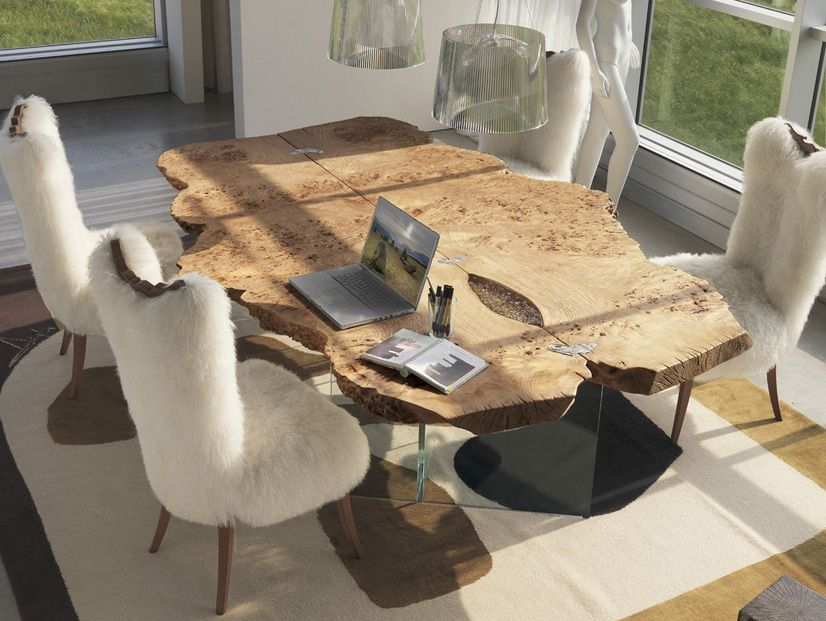 35 Modern Dining Tables That Will Make Every Dinner Special | Wood ...