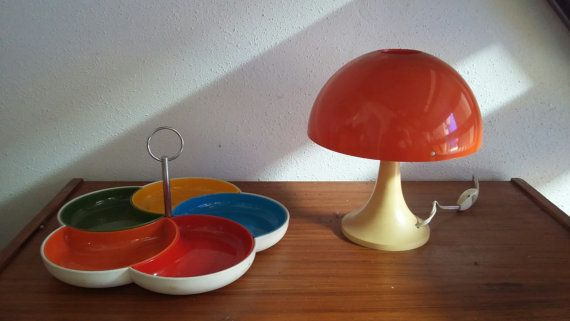Mignonne Lampe Champignon Space Age 70 Vintage No Etsy Vintage Scandinavian Furniture Lamp Vintage Furniture