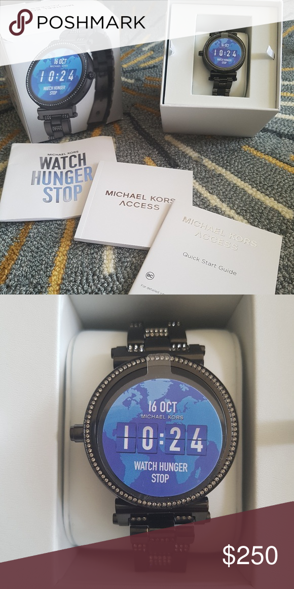 9e6d3c2a9d4c Never used Michael Kors Access Smart Watch NWT in 2019