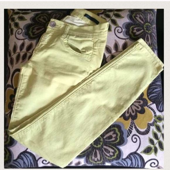 Lime green skinny jeans slim fit New Pants Skinny