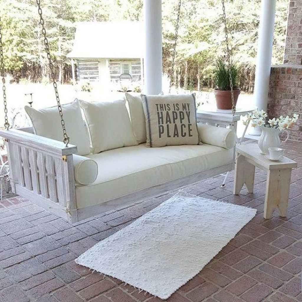 70 relaxing farmhouse porch swing design ideas porch