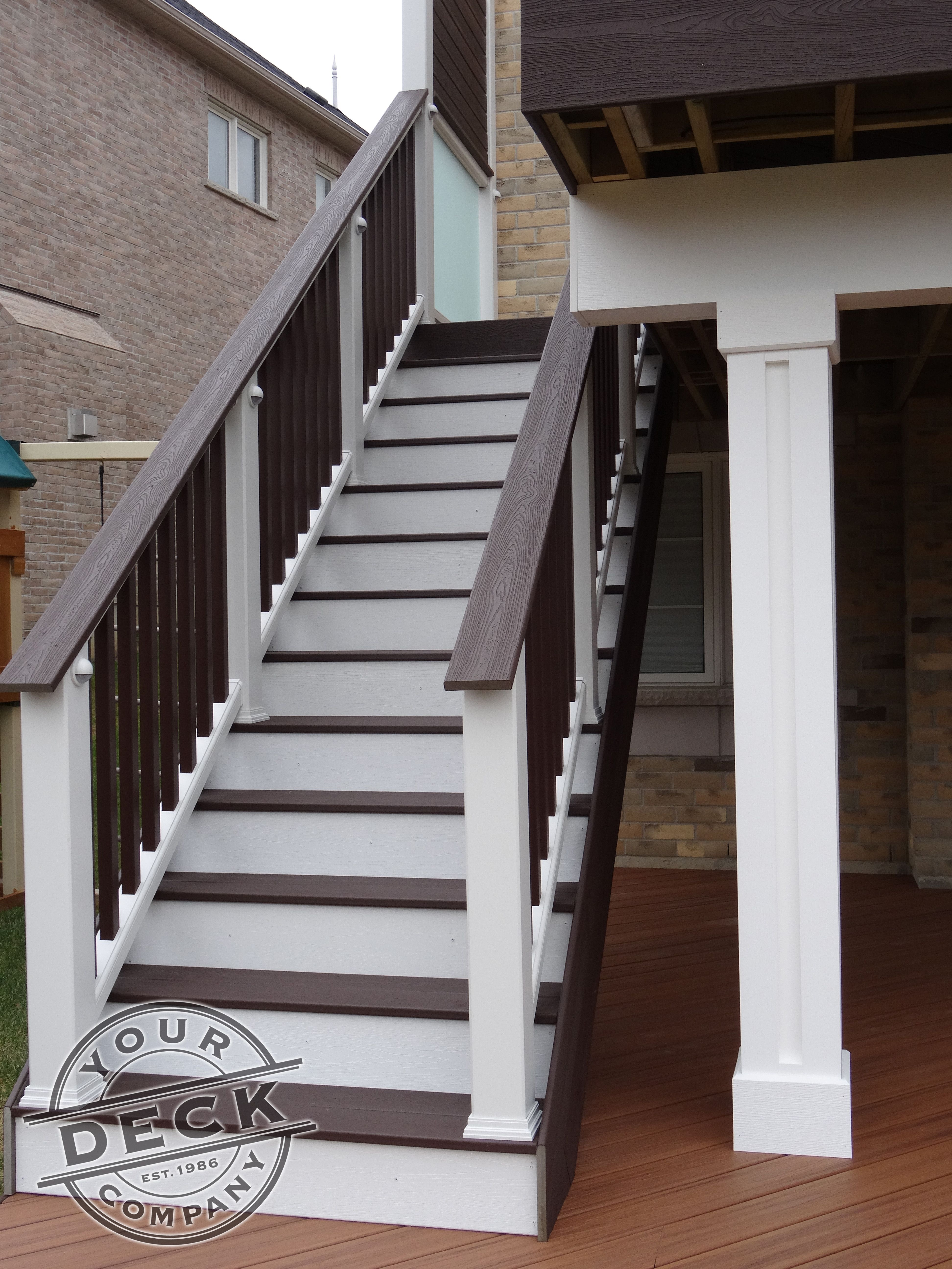 this custom deck was created by your deck company we used a