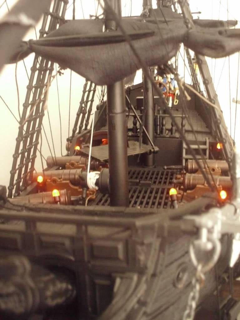 The Black Pearl Pirates Of The Caribbean Aka Playmobil 3286 3940 Custom Playmobil Schiff Spielzeug