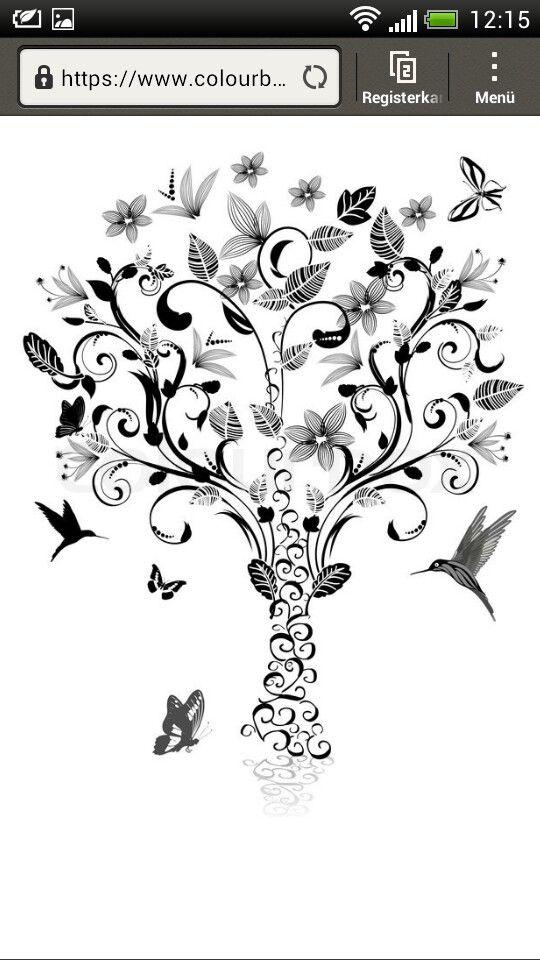 lebensbaum tattoo lebensbaum tattoo baum des lebens. Black Bedroom Furniture Sets. Home Design Ideas