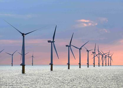 Sheringham Shoal Offshore Wind Farm, owned by Norwegian companies Statoil  and Statkraft (Courtesy Scira). | Offshore wind farms, Offshore wind, Wind  turbine