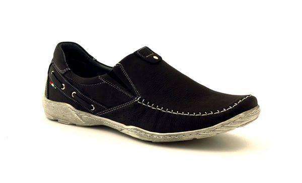 Polbuty Wsuwane Czarne Meskie Riko 582 Sneakers Shoes Clogs