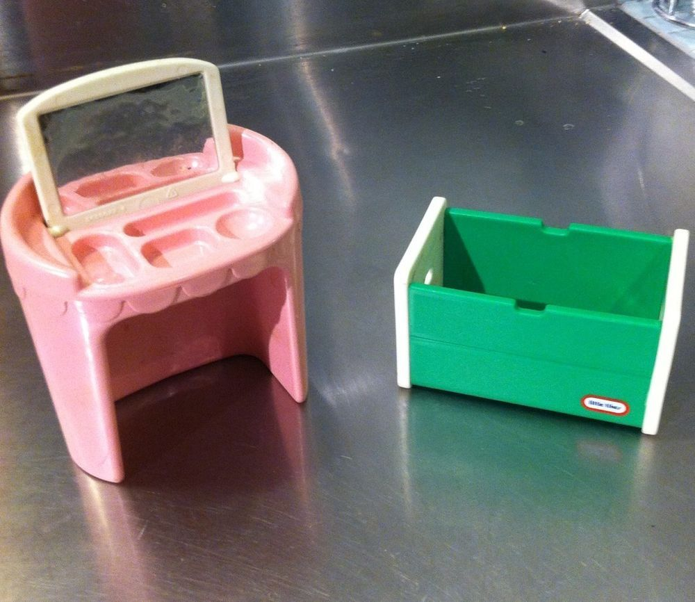 Little tikes dollhouse furniture retired pink vanity green toy furniture little tikes dollhouse furniture retired pink vanity geotapseo Image collections