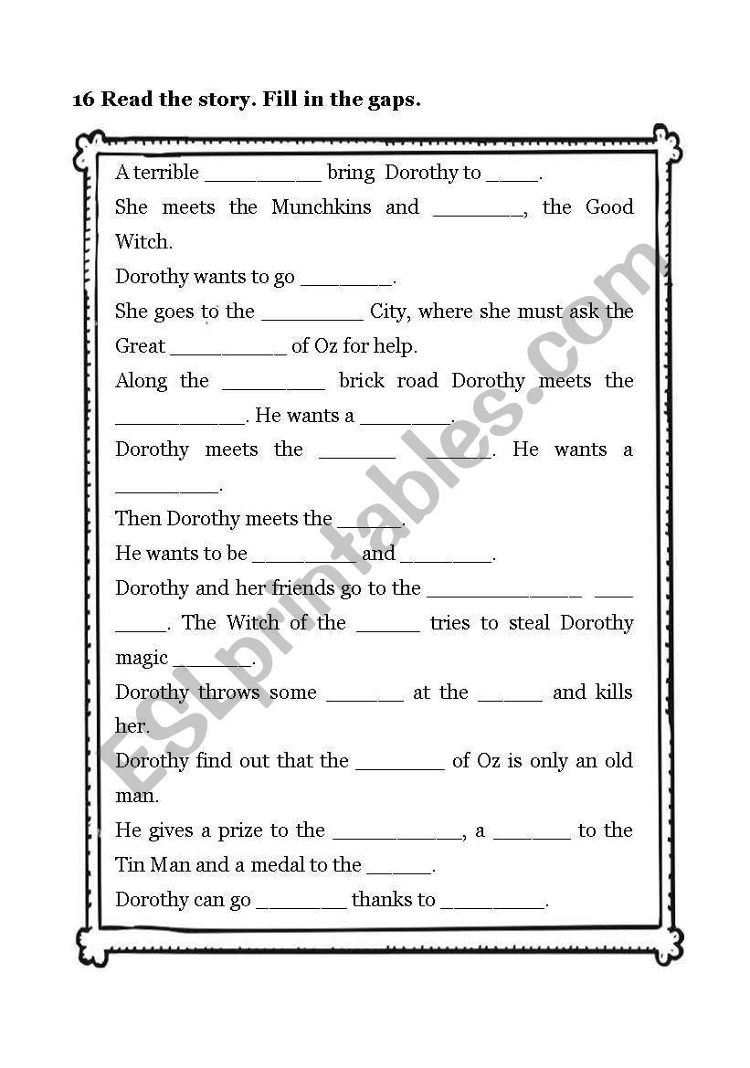The Wizard Of Oz 2 4 Worksheet Kids Worksheets Printables Cursive Writing Worksheets Wizard Of Oz 2 [ 1169 x 821 Pixel ]